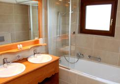 Hotel Restaurant Panorama - Crans-Montana - Bathroom