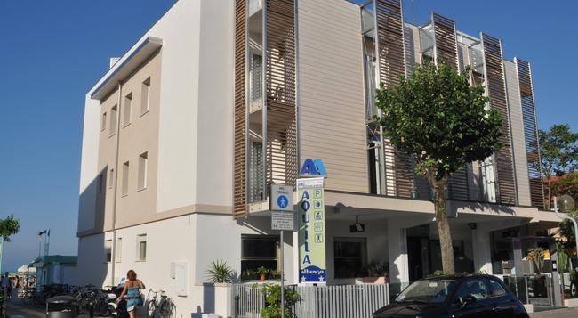 Albergo Aquila - Rimini - Building