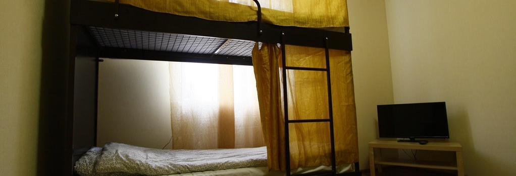 Smart People Eco Hostel - Krasnodar - Bedroom