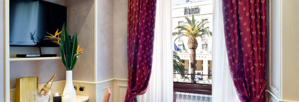 Al Viminale Hill Inn & Hotel - Rome - Bedroom