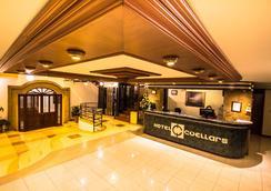 Hotel Cuellars - Pasto - Front desk