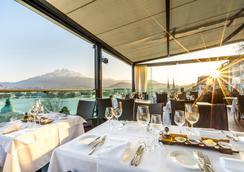 Penthouse by Art Deco Hotel Montana - Lucerne - Restaurant