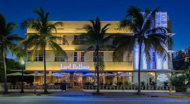 Room Mate Lord Balfour - Miami Beach - Building