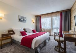 Hôtel Les Arolles - Les Allues - Bedroom