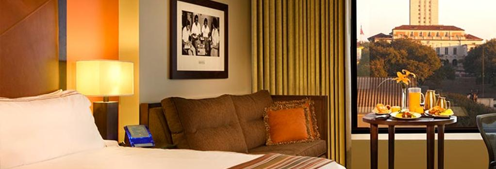 At&t Hotel & Conference Center At The University Of Texas - Austin - Bedroom