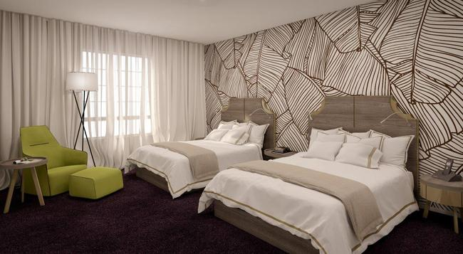 The L Hotel - Miami Beach - Bedroom