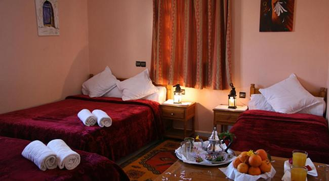 Hotel La Vallée - Ouarzazate - Bedroom