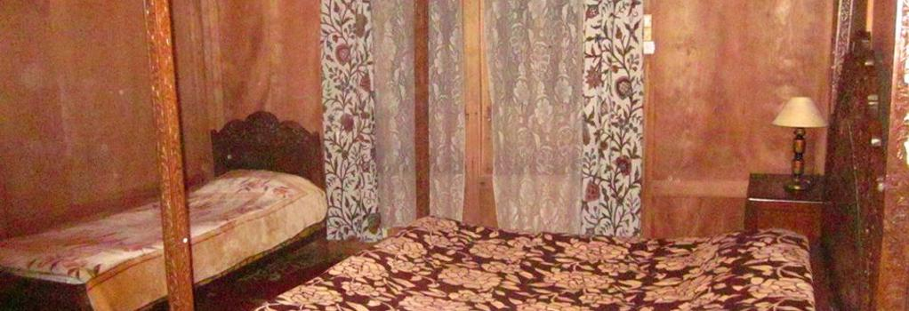 New Sherin Houseboats - Srinagar - Bedroom