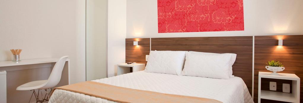 Hotel Geranius Praia dos Ingleses - Florianópolis - Bedroom