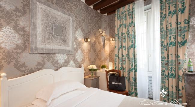 Hôtel Saint Paul Le Marais - Paris - Bedroom