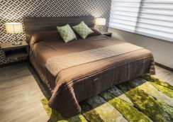 Hotel Platino Expo - Guadalajara - Bedroom