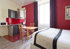 Apart'hotel Ajoupa - Nice - Bedroom
