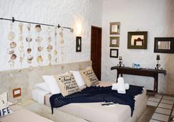 Posada Mediterraneo - Isla los Roques - Bedroom