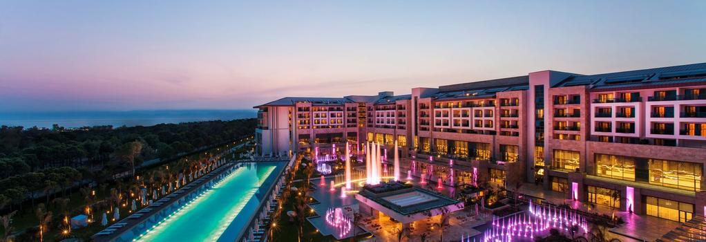 Regnum Carya Golf & Spa Resort - Belek - Building