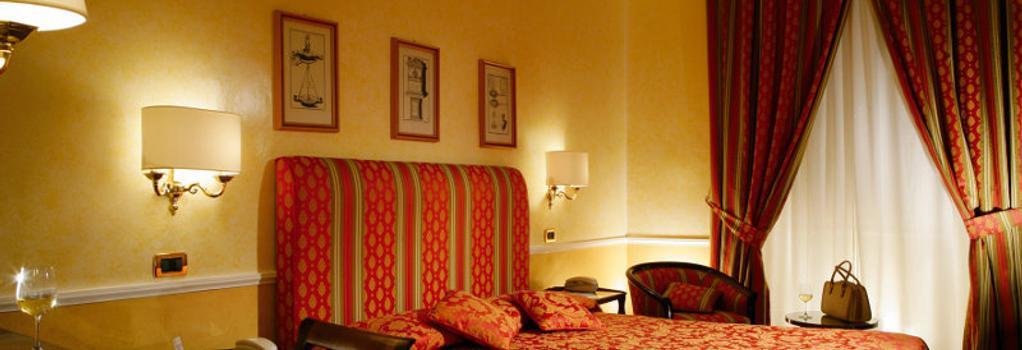 Hotel Massimo D Azeglio - Rome - Bedroom