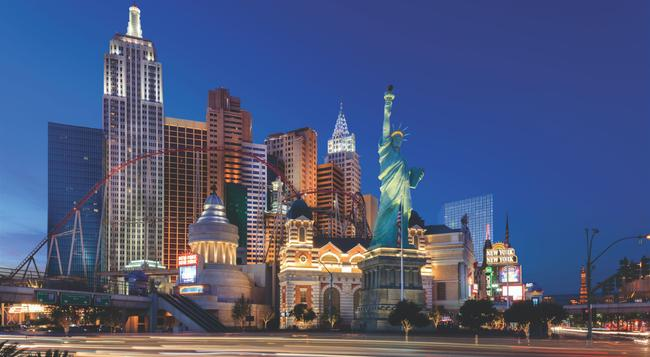 New York-New York Hotel & Casino - Las Vegas - Building
