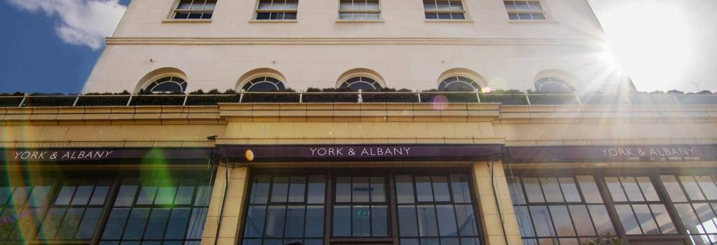 York & Albany - London - Building
