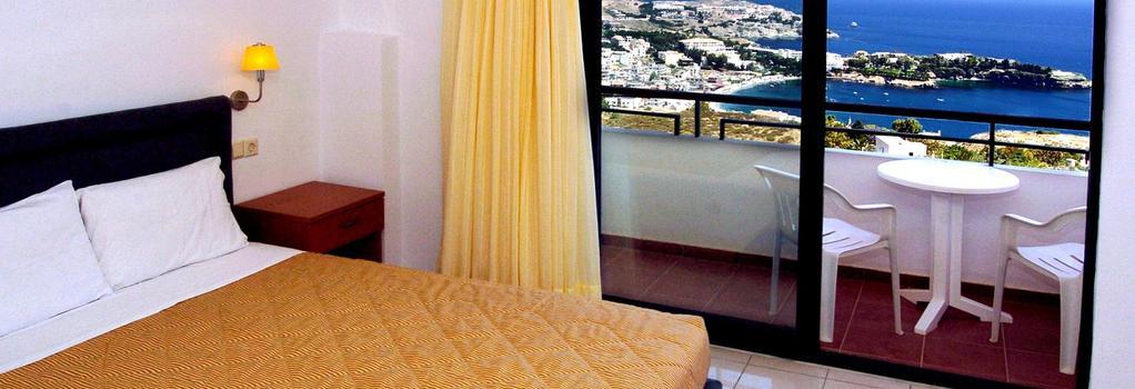 Pela Mare Hotel - Agia Pelagia (Malevizi) - Bedroom