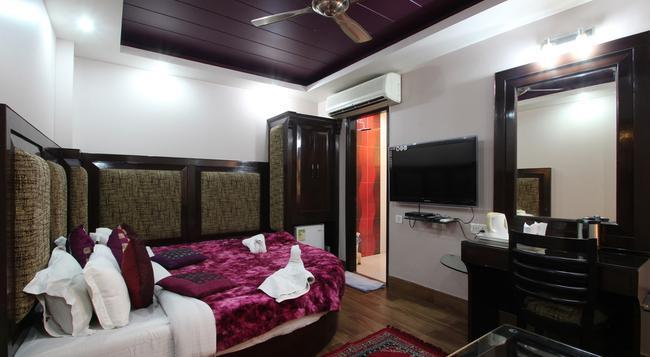 Hotel Bonlon Inn - New Delhi - Bedroom