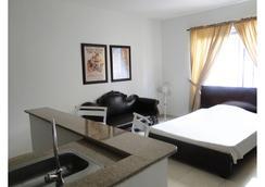 Arco Apartasuites - Cali - Bedroom