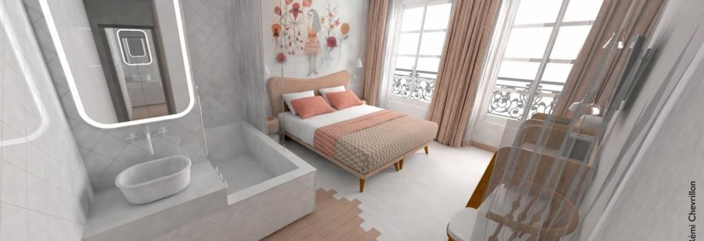 Le Lapin Blanc - Paris - Bedroom