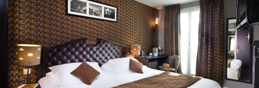 Hotel du Prince Eugene - Paris - Bedroom