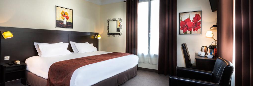 Hotel Chatillon Montparnasse - Paris - Bedroom