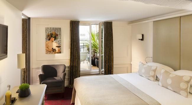 Hotel Moliere - Paris - Bedroom