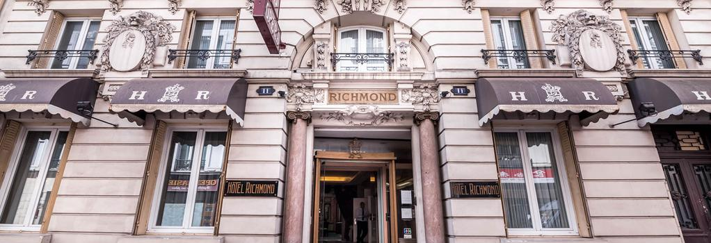 Richmond Opera Hotel - Paris - Building