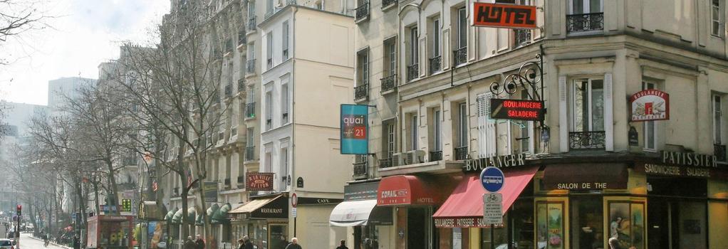 Hotel Corail - Paris - Building