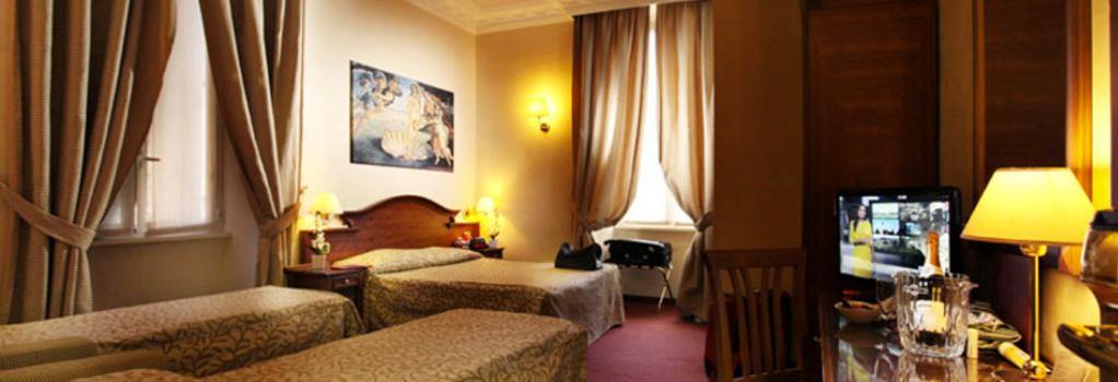 Hotel Solis - Rome - Bedroom