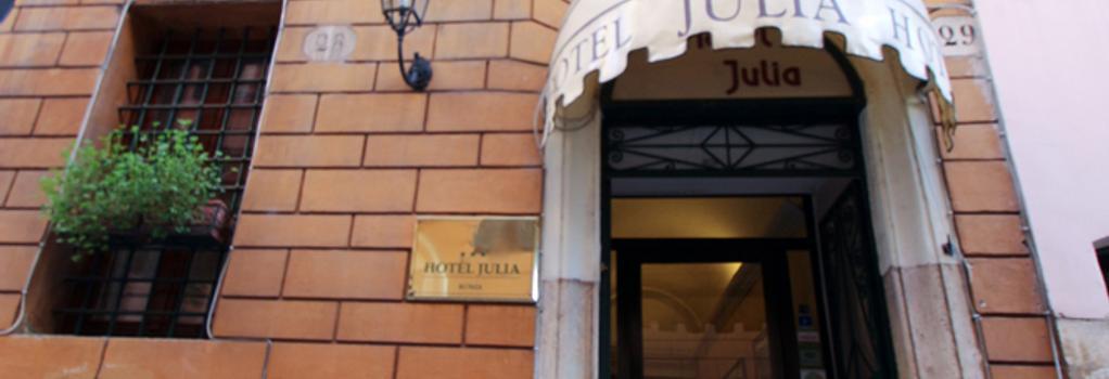 Hotel Julia - Rome - Building