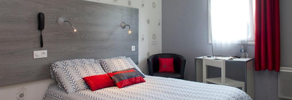Hôtel Mac Bed - Poitiers - Bedroom