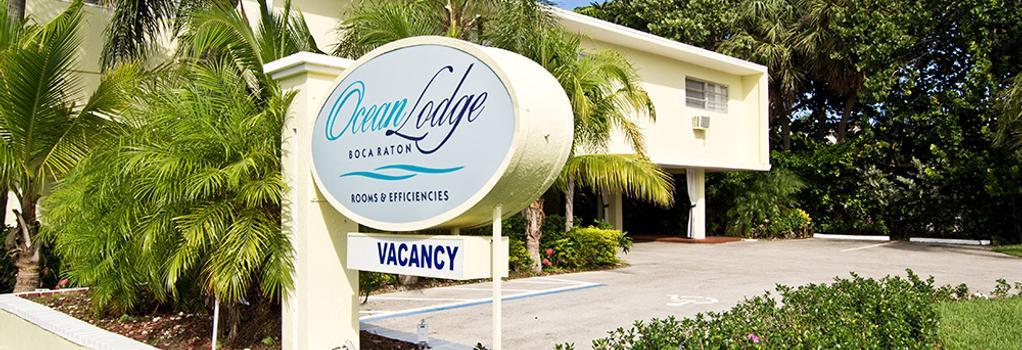 Ocean Lodge - Boca Raton - Building