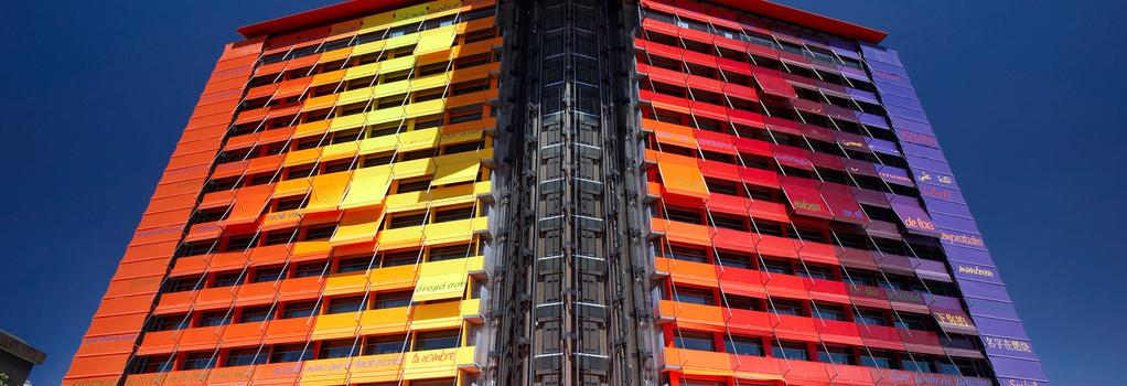 Hotel Silken Puerta America - Madrid - Building