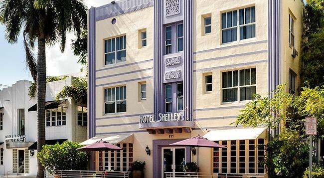 Hotel Shelley - Miami Beach - Building