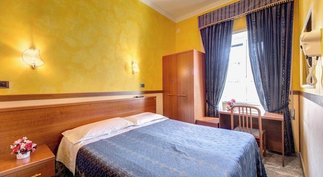 Hotel Planet - Rome - Bedroom