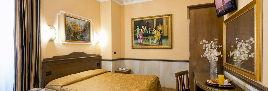 Hotel Marco Polo - Rome - Bedroom