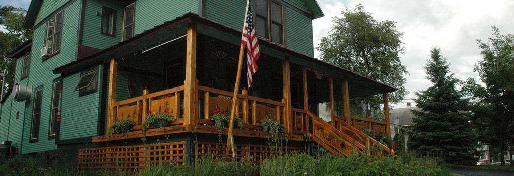 Paradox Lodge & Cedar Lodge - Lake Placid - Patio