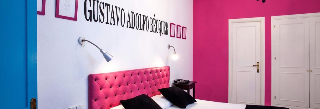 Casual Hotel Sevilla De Las Letras - Sevilla - Bedroom