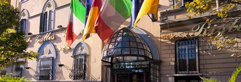 Hotel Galles - Rome - Building