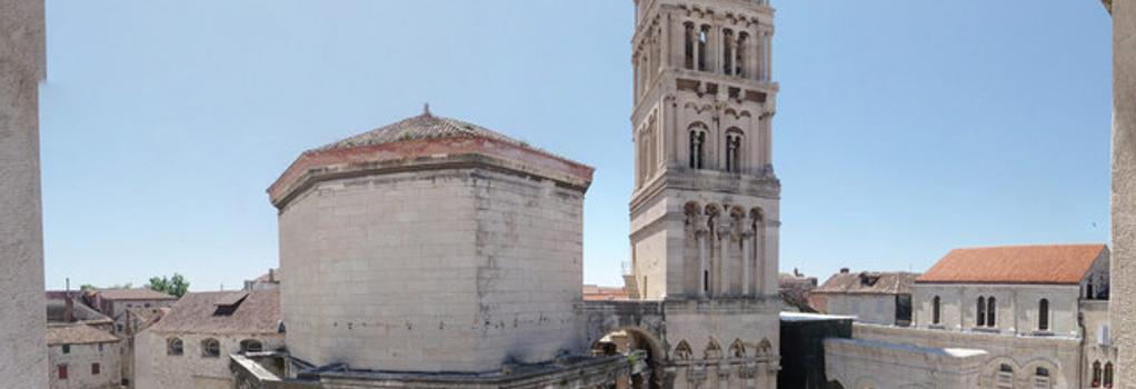 Diocletian's Rooms - Split - Outdoor view