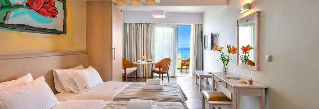 Palm Beach Apartments - Studio - Rethymno - Bedroom