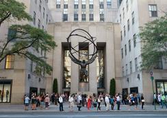 The Jewel Facing Rockefeller Center - New York - Building